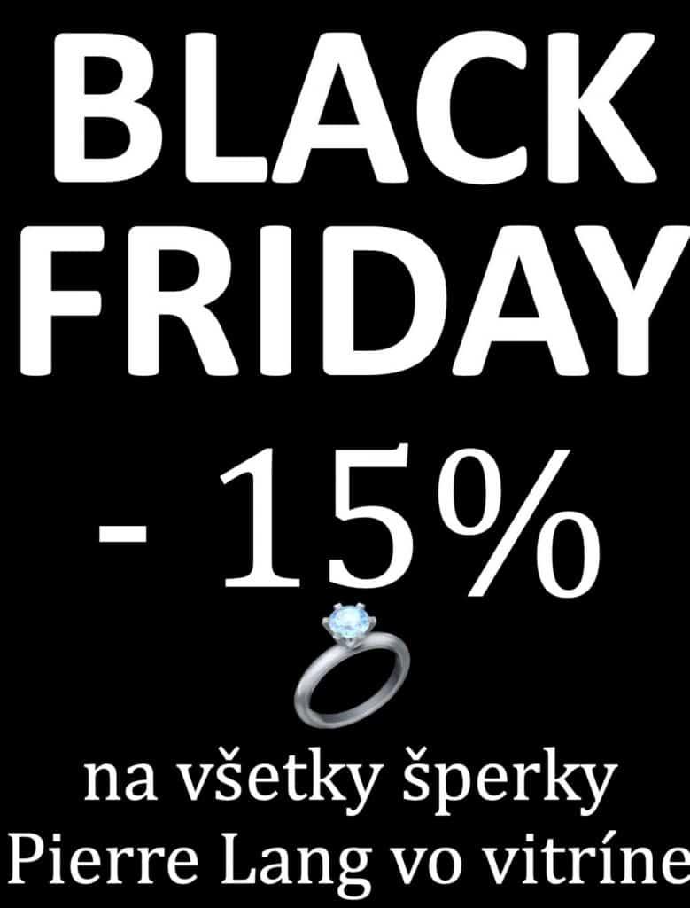 Black Friday Pierre Lang -15% Zuzana Nitra